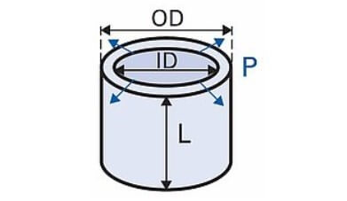 A standard piezo tube